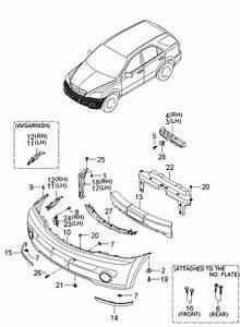 2004 Kia Sorento Parts Manual