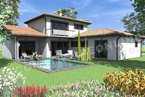 plan de maison a etage moderne vente de plan de maison en l