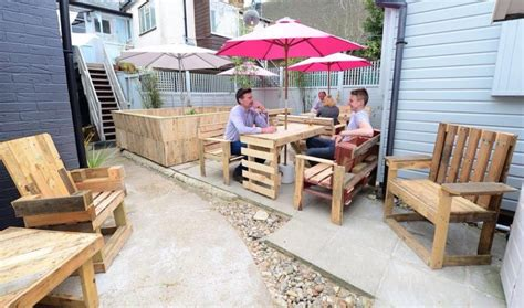 patio furniture out of wooden pallets pallet ideas