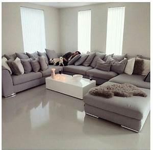 Couch U Form Modern : 25 best ideas about u shaped sofa on pinterest u shaped couch u shaped sectional and grey ~ Bigdaddyawards.com Haus und Dekorationen
