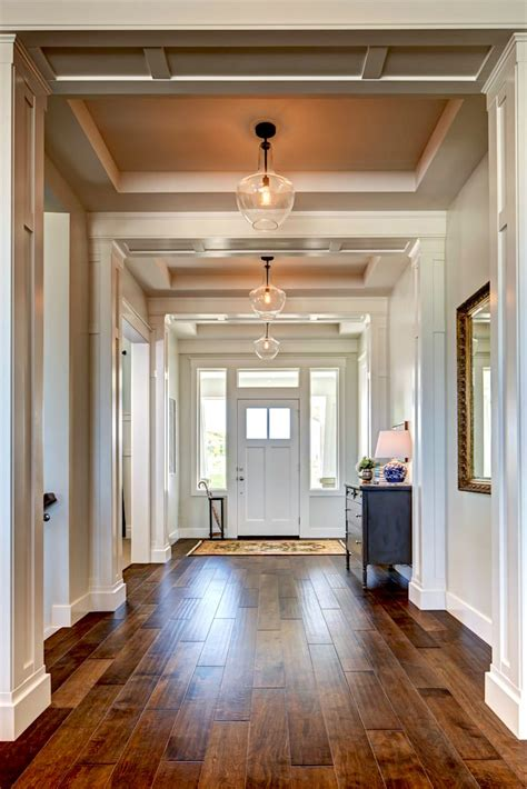 Small Entryway Lighting Ideas - help for a boring hallway and what not to do
