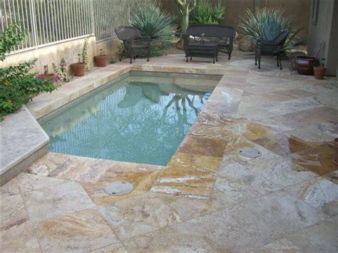 splash pool and patio in authentic durango