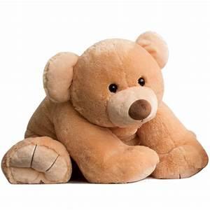 Gros Nounours En Peluche : ours en peluche g ant gros ours miel histoire d 39 ours ~ Teatrodelosmanantiales.com Idées de Décoration