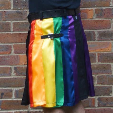 lgb pride rainbow skilt modern kilts for for sale