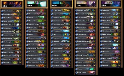 Hearthstone Top Decks Mage by Hearthstone News All Decklists From Wca 2014 Gosugamers