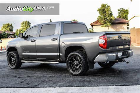 Wheels For Toyota Tundra by 2016 Toyota Tundra 20 Quot Fuel Wheels Maverick D538 Satin