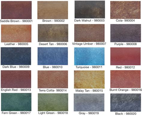 seal blue color color shell uv stable solvent acrylic stain seal krete