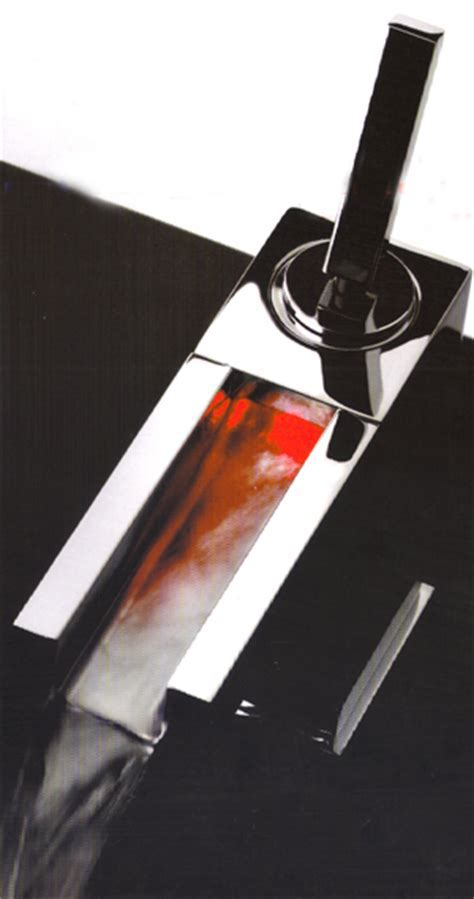 Gessi Rettangolo Cascata Bathroom Taps