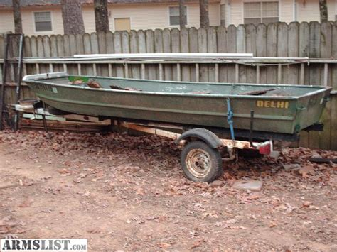Used Flat Bottom Boats For Sale In Arkansas by Armslist For Sale Flat Bottom Boats
