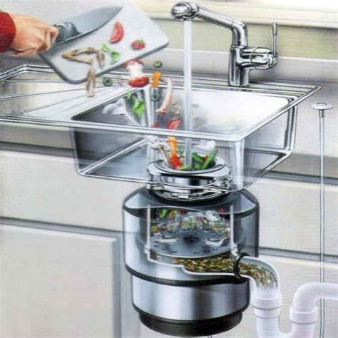 kitchen sink grinder food crusher in sink india food 2732