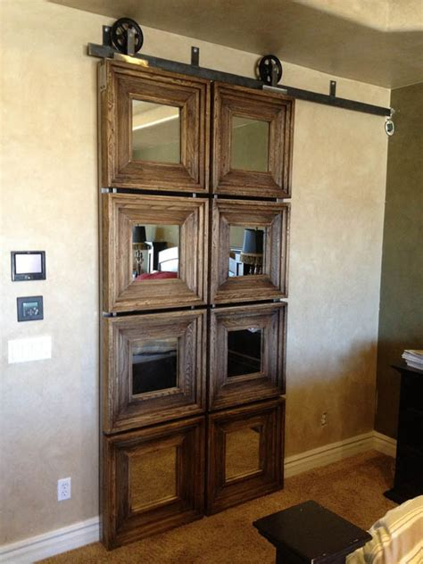 cleverly  interior sliding barn doors   home