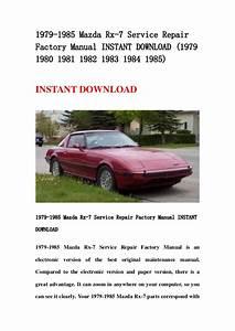 Mazda Rx 7 1986 1991 Haynes Service Repair Manual