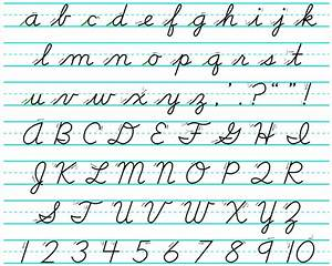Cursive writing – better for the brain?! « All In