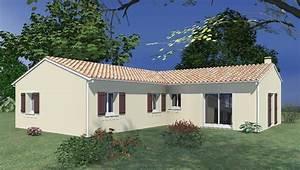 Modele maison : Maison 3 chambres salon séjour cuisine US, avec cellier et garage 313 UNIVIA