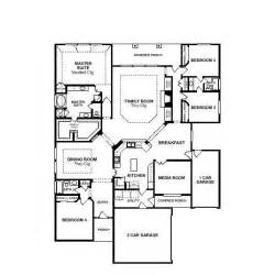 one story open house plans single story open floor plans valencia alt 75 39 section