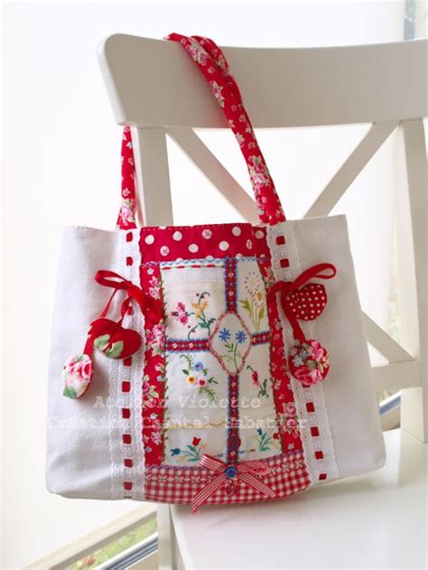 type  fabric bag patterns art craft ideas