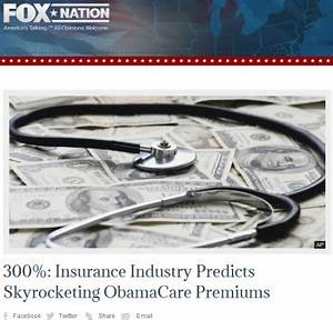 Right-Wing Media Feed False Panic Over Obamacare Premiums