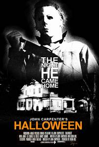 John Carpenter's Halloween - Minimal Poster B by ...