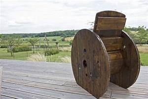 Fabriquer Un Fauteuil : fauteuil de jardin touret bois ma maison intelligente ~ Zukunftsfamilie.com Idées de Décoration