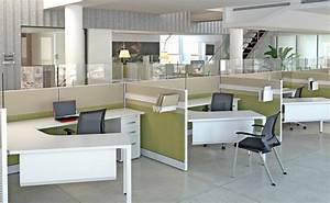 Dallas workstations open concept office space google for Open office cubicles