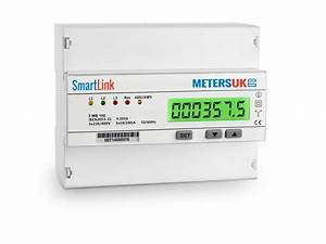 3mb100 Three Phase Smart Energy Meter With Pulse Output