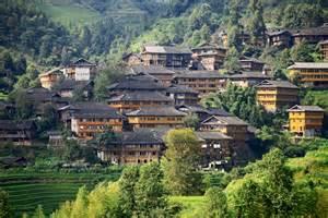 Dragons Backbone Rice Terraces China