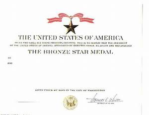 army award template images reverse search With bronze star certificate template