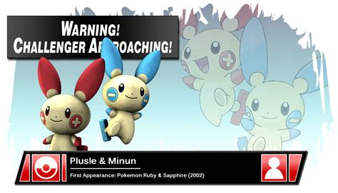 The Cheer-leading Shockers, Plusle And Minun For Smash