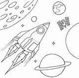 Coloring Spaceship Pages Nasa Space Printable Colouring Ship Sheet Sheets Rocket Print sketch template