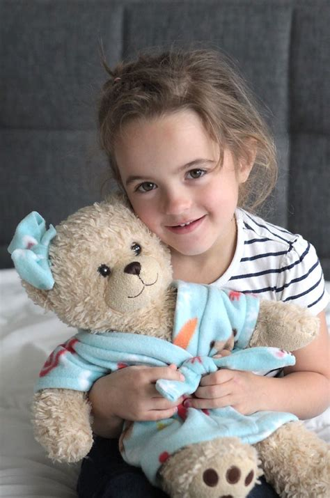 stuffed animal & teddy bear robe {free sewing pattern