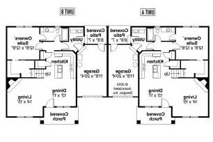 Stunning Images Two Story Duplex Plans by Craftsman House Plans Donovan 60 007 Associated Designs