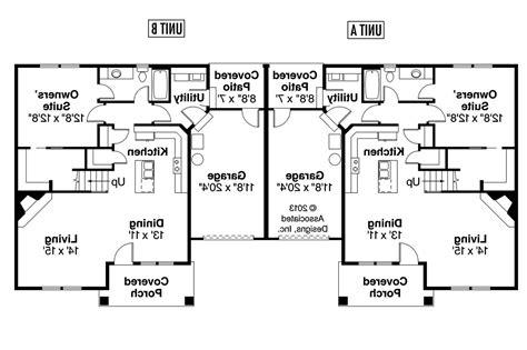 duplex plan donovan floor house plans