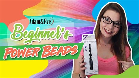 Beginners Power Beads For Your First Time Anal Sex Youtube