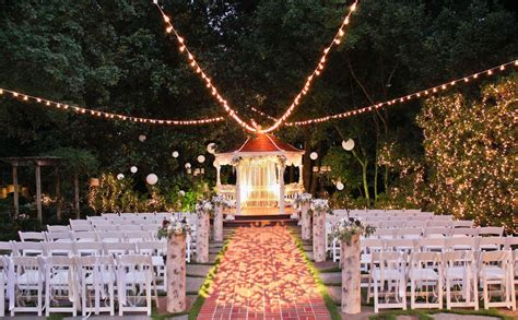 stylish outdoor wedding reception venues near me best