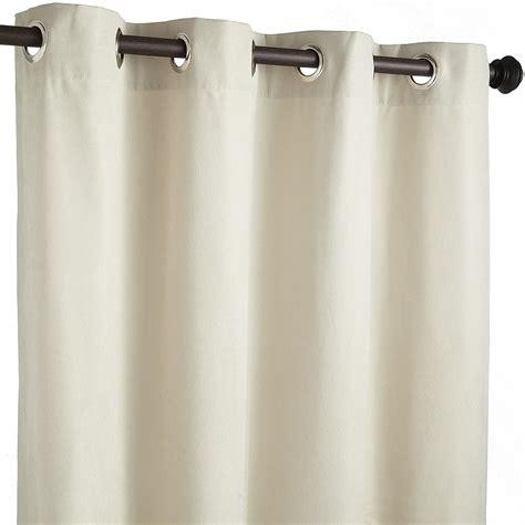 calliope ivory grommet curtain backyard mamma