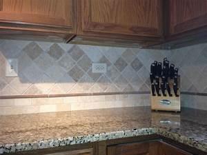 Natural stone backsplash kitchen pinterest for Natural stone kitchen backsplash