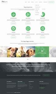 Pet care dog kennels html by kleverthemes themeforest for Dog boarding website