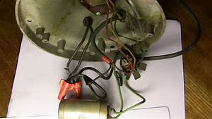 Need Wiring Diagram For Hunter Century C-16 - Pre-1950  Antique