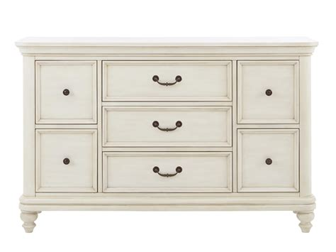 Samuel Lawrence Madison White 7 Drawer Dresser W/ Bun Feet Best Rv Drawer Latch Bed Drawers Storage Pickup Truck Diy Nouveau White 3 Bedside Table Husky 27 Inch 7 Tool Chest Child Locks Bunnings Natural Wood Expandable Kitchen Dividers Pull Out Dish Rack