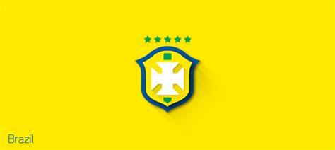 flat design logos  fifa world cup team logos