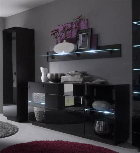 fauteuil de bureau gris 40 idées pour votre intérieur avec le bahut noir laqué