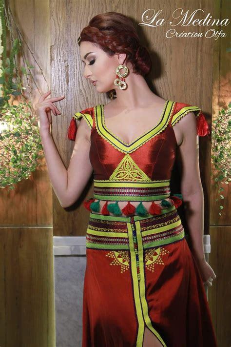 tenue traditionnelle tunisienne revisitee pinterest
