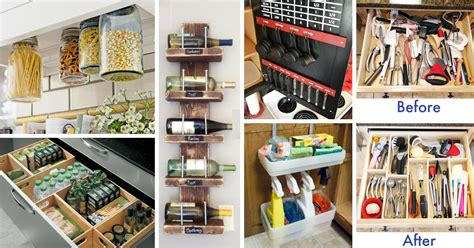 diy small kitchen ideas 45 small kitchen organization and diy storage ideas