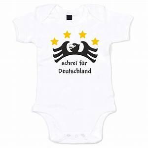 Lustige Baby Bodys : lustiger baby body schrei f r deutschland ~ Frokenaadalensverden.com Haus und Dekorationen