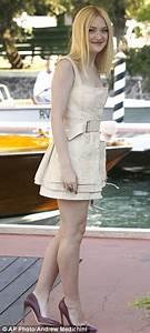 Dakota Fanning Cinches Her Waist In Chic Alexander McQueen