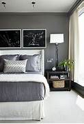 Shown Here Mixed With White Kendall Charcoal Works Well For A Bedroom Gray And White Bedroom Em For Marvelous Linen Bed Skirt Traditional Bedroom Phoebe Howard Gray And White Room Transitional Bedroom New England Home