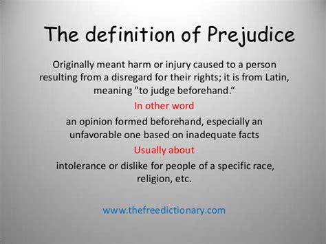 florence theme prejudice