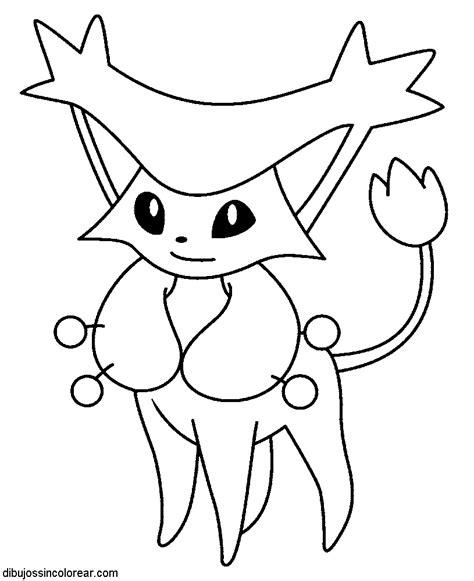 Dibujos de Pokemon (parte 2) para Colorear