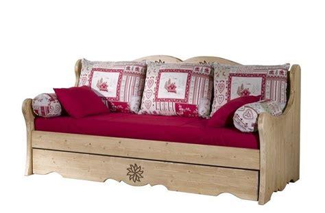 lit gigogne canapé banquette lit gigogne aravis meubles