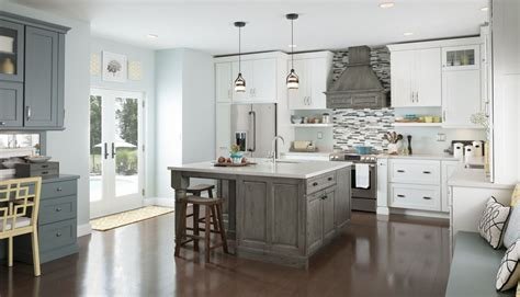 Kitchen Island Cabinets Menards by Medallion Cabinetry Menards Alcott Maple White Icing